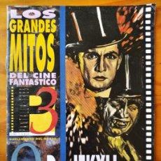 Cine: DR. JEKYLL Y MR HYDE- REVISTA MONOGRAFICA - COLECCION LOS GRANDES MITOS DEL CINE FANTASTICO. Lote 222456062