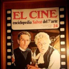 Cine: EL CINE - ENCICLOPEDIA SALVAT DEL 7º ARTE - AÑO 1979 - Nº 24 - CARTEL FILM LA PANTERA ROSA. Lote 222463528