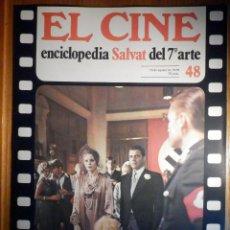 Cine: EL CINE - ENCICLOPEDIA SALVAT DEL 7º ARTE - AÑO 1979 - Nº 48 - CARTEL FILM EL AVENTURERO. Lote 222463685