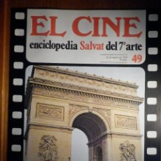 Cine: EL CINE - ENCICLOPEDIA SALVAT DEL 7º ARTE - AÑO 1979 - Nº 49 - CARTEL FILM LE CORBEAU. Lote 222463850
