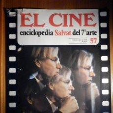 Cine: EL CINE - ENCICLOPEDIA SALVAT DEL 7º ARTE - AÑO 1979 - Nº 57 - CARTEL FILM INDISCRETA. Lote 222464048