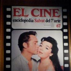 Cine: EL CINE - ENCICLOPEDIA SALVAT DEL 7º ARTE - AÑO 1979, Nº 67 - CARTEL FILM DRÁCULA VUELVE DE LA TUMBA. Lote 222464641
