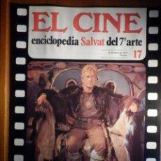 Cine: EL CINE - ENCICLOPEDIA SALVAT DEL 7º ARTE - AÑO 1979, Nº 17 - CARTEL FILM SALOMÉ. Lote 222464793