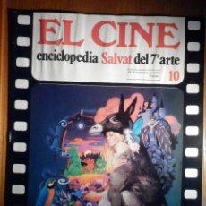 Cine: EL CINE - ENCICLOPEDIA SALVAT DEL 7º ARTE - AÑO 1979, Nº 10 - CARTEL EL GRAN GATSBY. Lote 222465033