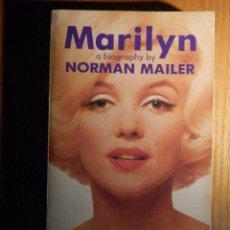 Cine: LIBRO DE CINE - MARILYN - A BIOGRAPHY BY NORMAN MAILER - 3ª ED. INGLÉS - 18 X 11 CM -1975. Lote 222467950