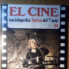Cine: EL CINE - ENCICLOPEDIA SALVAT DEL 7º ARTE - AÑO 1979, Nº 20 - CARTEL LA BELLA Y LA BESTIA. Lote 222510200