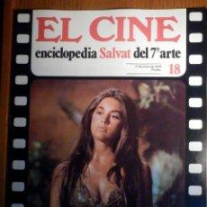 Cine: EL CINE - ENCICLOPEDIA SALVAT DEL 7º ARTE - AÑO 1979, Nº 18 - CARTEL ENRIQUE V. Lote 222510268