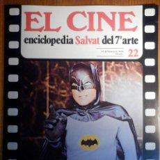 Cine: EL CINE - ENCICLOPEDIA SALVAT DEL 7º ARTE - AÑO 1979, Nº 22 - CARTEL COMO PLAGA DE LANGOSTA. Lote 222510302