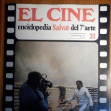 Cine: EL CINE - ENCICLOPEDIA SALVAT DEL 7º ARTE - AÑO 1979, Nº 21 - CARTEL EL TESTAMENTO DEL DR. CORDELIER. Lote 222510340