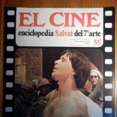 Cine: EL CINE - ENCICLOPEDIA SALVAT DEL 7º ARTE - AÑO 1979, Nº 55 - CARTEL CRIA CUERVOS. Lote 222510407
