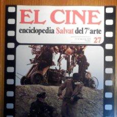 Cine: EL CINE - ENCICLOPEDIA SALVAT DEL 7º ARTE - AÑO 1979, Nº 27 - CARTEL HALLELUJAH THE HILLS. Lote 222510495
