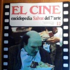 Cine: EL CINE - ENCICLOPEDIA SALVAT DEL 7º ARTE - AÑO 1979, Nº 12 - CARTEL THE PRIVATE LIFE OF ELITHABETH. Lote 222510622