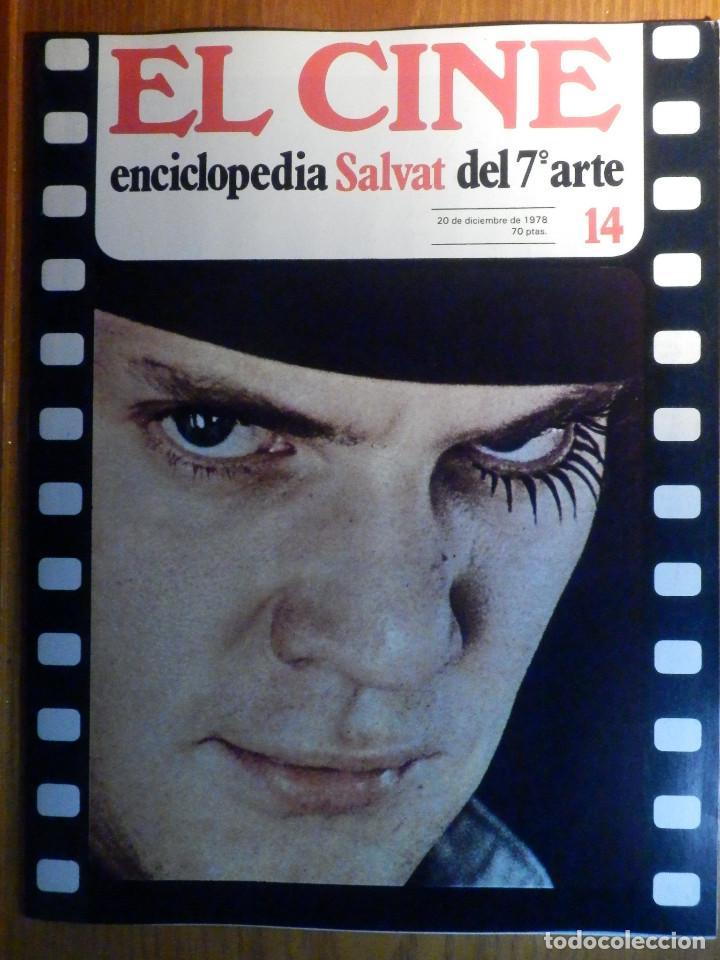 EL CINE - ENCICLOPEDIA SALVAT DEL 7º ARTE - AÑO 1979, Nº 14 - (Cine - Revistas - Otros)