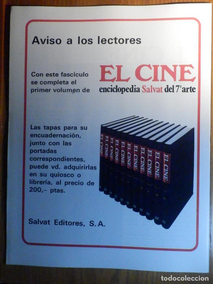 Cine: EL CINE - ENCICLOPEDIA SALVAT DEL 7º ARTE - AÑO 1979, Nº 14 - - Foto 2 - 222510705