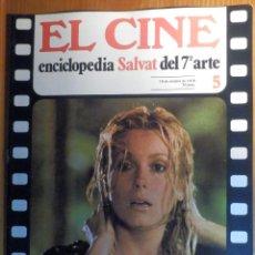 Cine: EL CINE - ENCICLOPEDIA SALVAT DEL 7º ARTE - AÑO 1979, Nº 5 - EL DECRETO ENCANTO DE LA BURGUESÍA. Lote 222510825