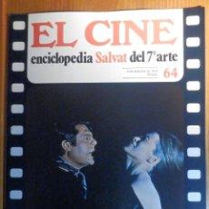 Cine: EL CINE - ENCICLOPEDIA SALVAT DEL 7º ARTE - AÑO 1979, Nº 64 - CARTEL UN TRANVÍA LLAMADO DESEO. Lote 222510868