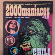 Cine: 2000 MANIACOS Nº 22. Lote 222588712