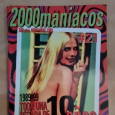 Cine: 2000 MANIACOS Nº 21. Lote 222590788