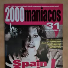 Cine: 2000 MANIACOS Nº 31. Lote 222591353
