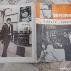 Cine: DIRIGIDO POR Nº 4, VICENTE MINNELLI, 1973, TIENE DOS HOJAS QUE SON FOTOCOPIAS. Lote 222638361