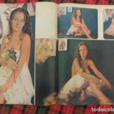 Cine: RECORTE ACTRIZ ROSALIA DANS 1975 CINE ESPAÑOL DESTAPE PÁGINAS FOTOS ARTÍCULO DESNUDO. Lote 222691250