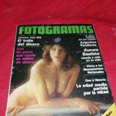 Cine: FOTOGRAMAS (1977), NÚMERO 1504.. Lote 222721495