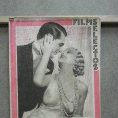 Cinema: AAO77 CARY GRANT GENEVIEVE TOBIN REVISTA ESPAÑOLA FILMS SELECTOS Nº 203 SEPTIEMBRE 1934. Lote 222809520
