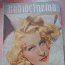 Cine: LILY VICENTI REVISTA RADIOCINEMA N. 54 LUIS SAGI-VELA, MARRY DELGADO.... Lote 222975231