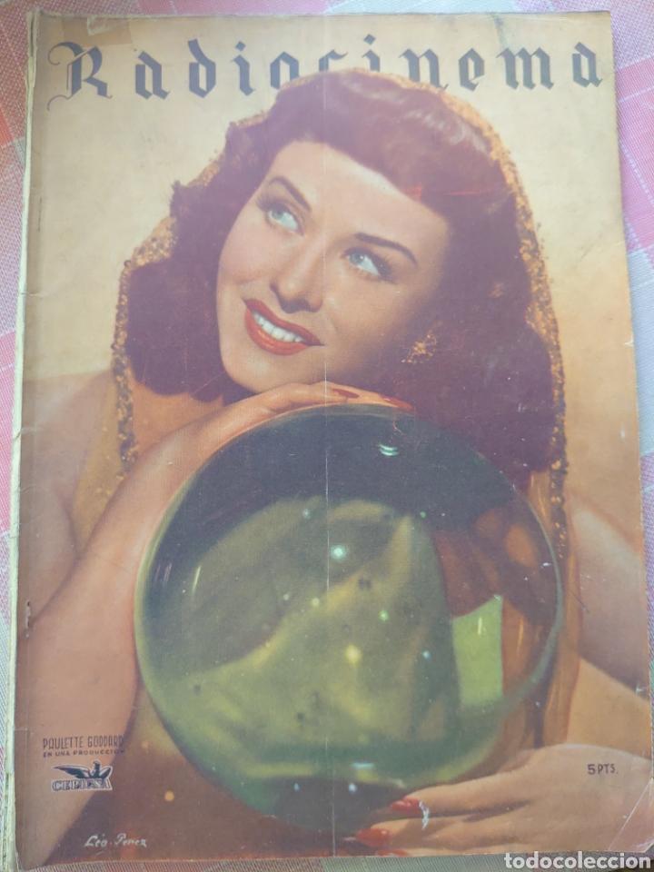 PAULETTE GODARD REVISTA RADIOCINEMA N. 95 DICIEMBRE 1943... (Cine - Revistas - Radiocinema)