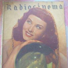 Cine: PAULETTE GODARD REVISTA RADIOCINEMA N. 95 DICIEMBRE 1943.... Lote 222980852