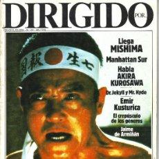 Cinema: DIRIGIDO POR... Nº 131. Lote 223080740