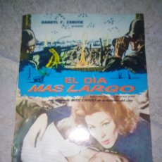 Cine: LIBRITO DE LA PELÍCULA EL DÍA MÁS LARGO-35 PAGS. Lote 223093528