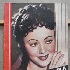 Cine: AAO98 OLIVIA DE HAVILLAND REVISTA ESPAÑOLA CINEGRAMAS Nº 90 MAYO 1936. Lote 223129083