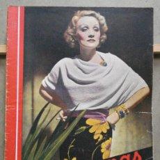 Cinema: AAP18 MARLENE DIETRICH REVISTA ESPAÑOLA CINEGRAMAS Nº 77 MARZO 1936. Lote 223260126