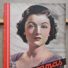 Cinema: AAP29 MYRNA LOY REVISTA ESPAÑOLA CINEGRAMAS Nº 78 MARZO 1936. Lote 223263786