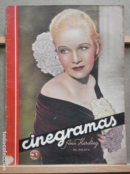 AAP36 ANN HARDING REVISTA ESPAÑOLA CINEGRAMAS Nº 97 JULIO 1936 (Cine - Revistas - Cinegramas)