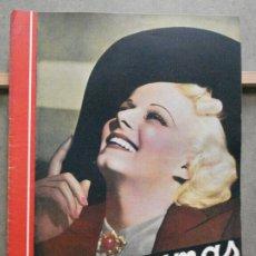 Cine: AAP46 JEAN HARLOW REVISTA ESPAÑOLA CINEGRAMAS Nº 84 ABRIL 1936. Lote 223270233