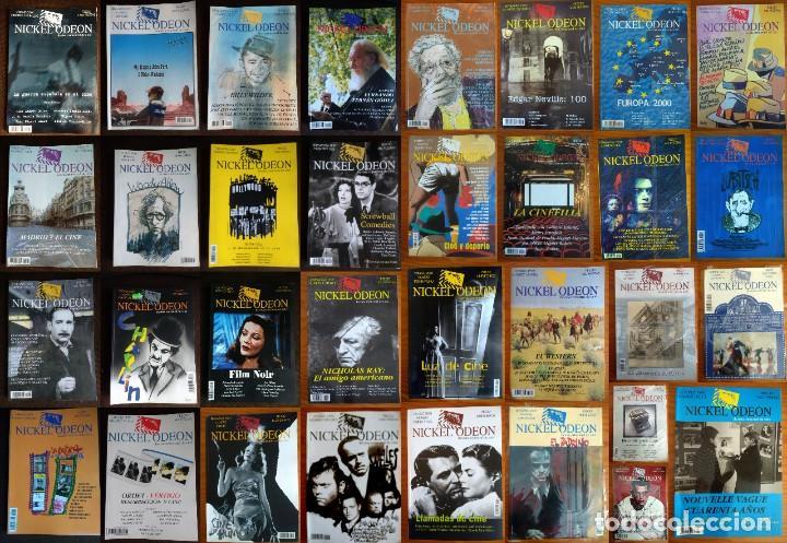 COLECCIÓN COMPLETA REVISTA NICKELODEON LOS 33 NÚMEROS (Cine - Revistas - Nickel Odeon)