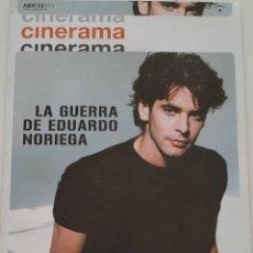 Cine: REVISTA CINERAMA Nº 94 EDUARDO NORIEGA BRITNEY SPEARS BLADE WILL SMITH DANIEL CALPARSORO GUERREROS. Lote 223497921