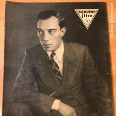 Cinéma: REVISTA POPULAR FILM AGOS 1930 BUSTER KEATON ALICE WHITE ROSITA MORENO. Lote 223652720