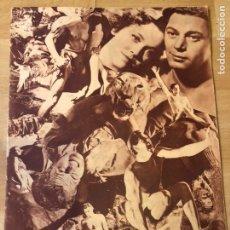 Cinéma: REVISTA POPULAR FILM SEPT 1934 JOHNNY WEISSMULLER MARLENE DIETRICH MAE WEST. Lote 223652811