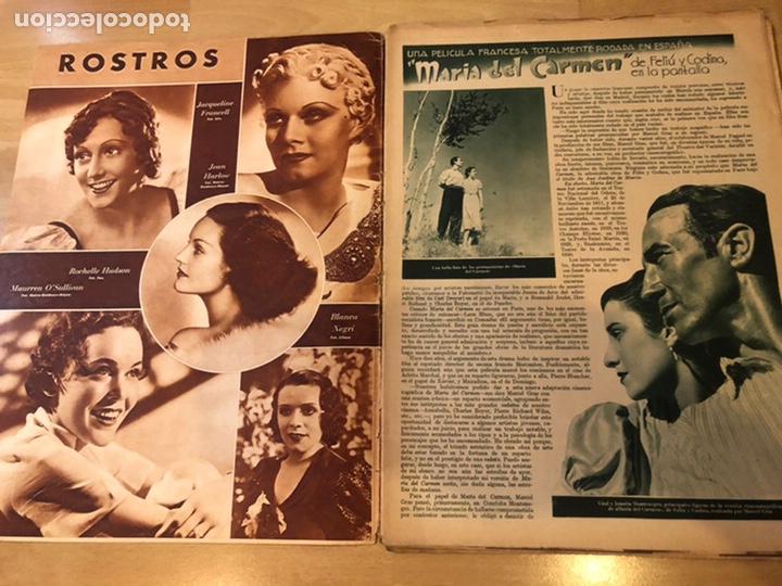 Cine: Revista cinegramas dic 1935.myrna loy William Powell Greta garbo Luis trenker - Foto 2 - 223704372