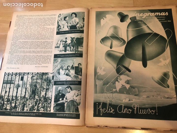 Cine: Revista cinegramas dic 1935.myrna loy William Powell Greta garbo Luis trenker - Foto 3 - 223704372
