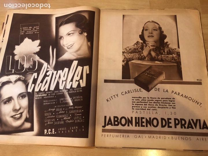 Cine: Revista cinegramas dic 1935.myrna loy William Powell Greta garbo Luis trenker - Foto 5 - 223704372