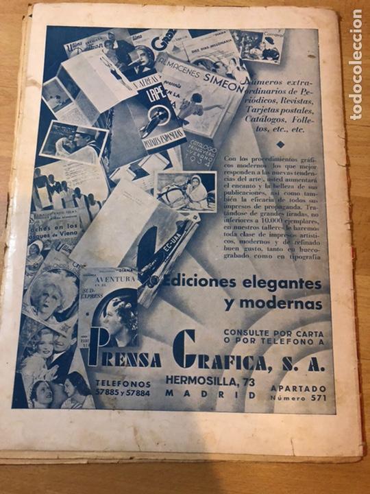Cine: Revista cinegramas dic 1935.myrna loy William Powell Greta garbo Luis trenker - Foto 9 - 223704372