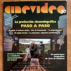Cine: 1999 CINEVIDEO 20 - REVISTAS PROFESIONAL DE LOS MEDIOS AUDIOVISUALES. Lote 224111427