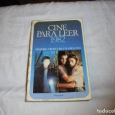 Cine: CINE PARA LEER AÑO 1982. Lote 224118802