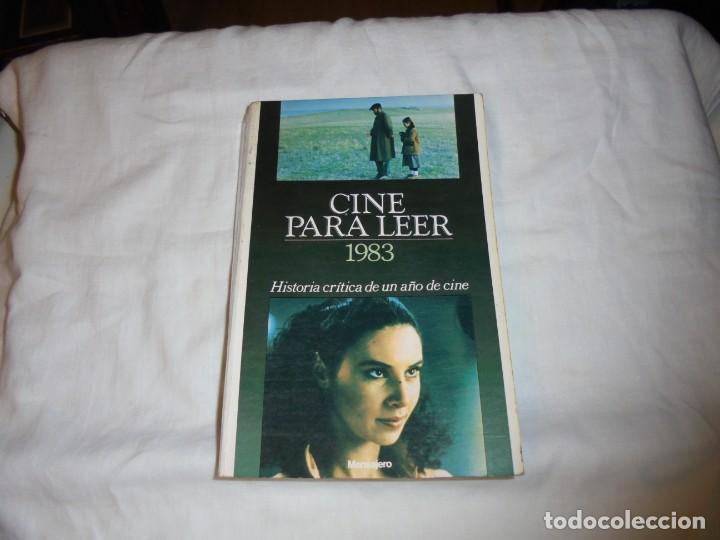 CINE PARA LEER AÑO 1983 (Cine - Revistas - Otros)