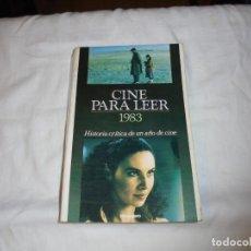 Cine: CINE PARA LEER AÑO 1983. Lote 224119143