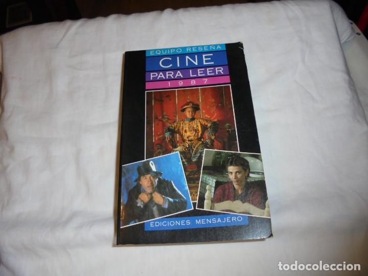 CINE PARA LEER AÑO 1987 (Cine - Revistas - Otros)